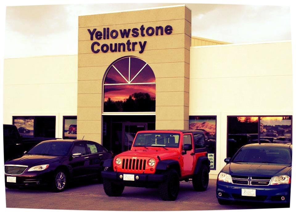 Yellowstone Country Motors Facade