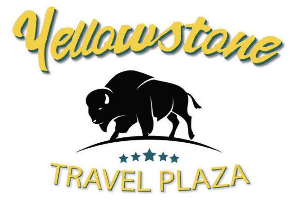 Yellowstone Travel Plaza Truck Stop Logo